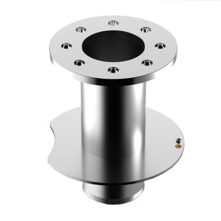 Male-flange floor/wall fitting tz-200