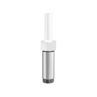"""Smooth bore nozzle extension 80 mm 3/8"""""""